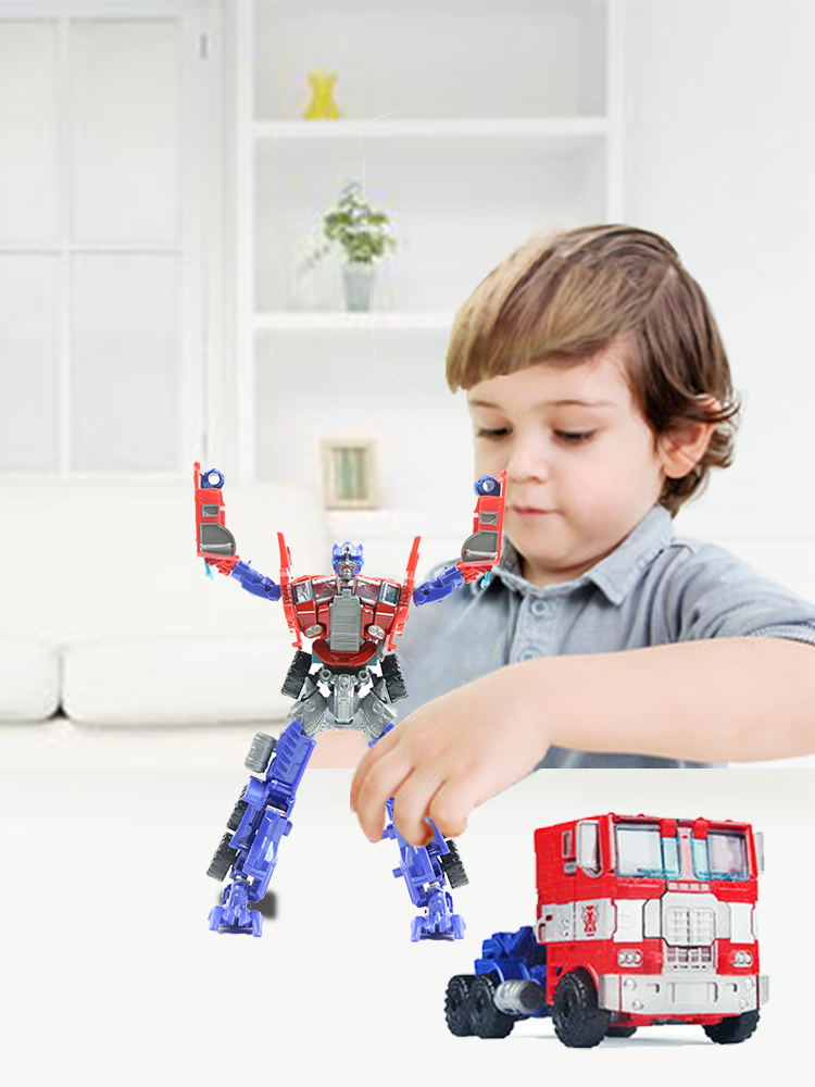 Robot Toys Transformation Action-Figure Bumblebee Jazz-Collection Decepticons Kids Optimus Prime