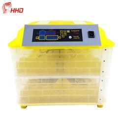 Incubadora de huevos HHD totalmente automática 112, 12V, capacidad de incubadora, máquina de incubación, Control Digital de temperatura, incubadora de huevos de gallina y codorniz