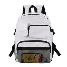 цена на women Backpack Shoulder Bag Male Fashion Best Travel Backpacks Everyday Bagpack Laptop Bags For Teenager Boy Mochila 2019