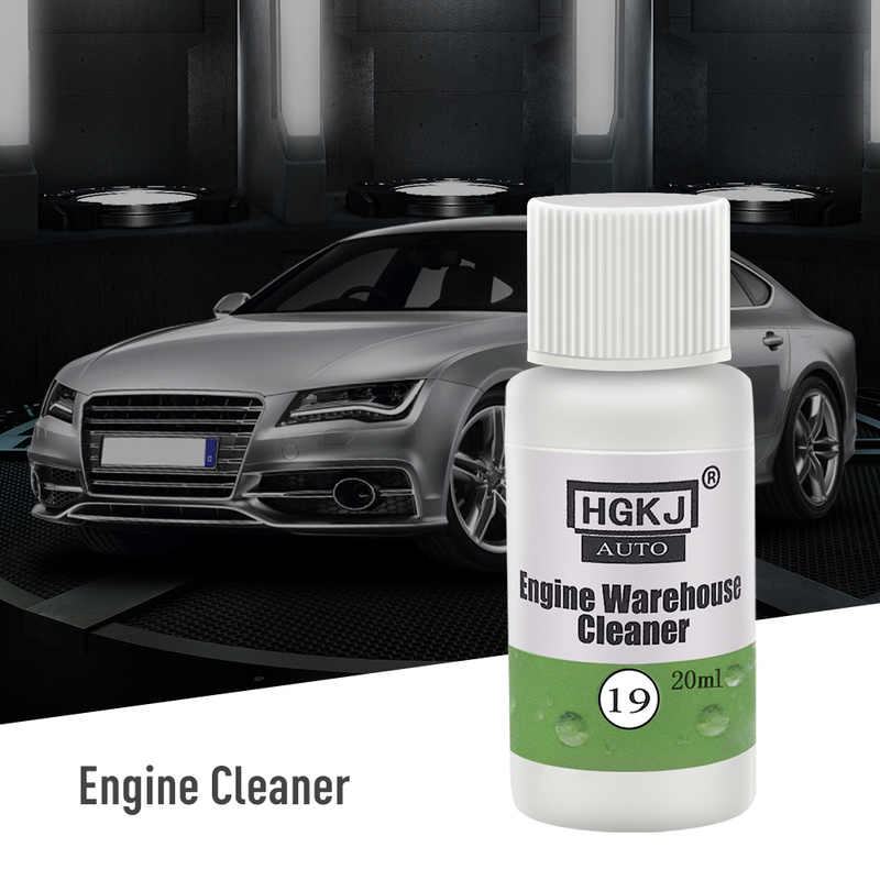 20ML Car Engine Compartment Cleaner Remove Heavy Oil Engine Warehouse Cleaner Automotive Glass Cleaning Tool Auto Accessories