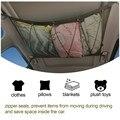 Карманная сетка для хранения на потолок автомобиля, интерьер автомобиля на крыше, сумка-сетка для груза, Портативная сумка для хранения в ба...