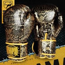 GINGPAI Boxing Gloves for Men Karate Muay Thai Guantes De Boxeo Free Fighting MMA Sanda Training Adult Kids Equipment Gloves