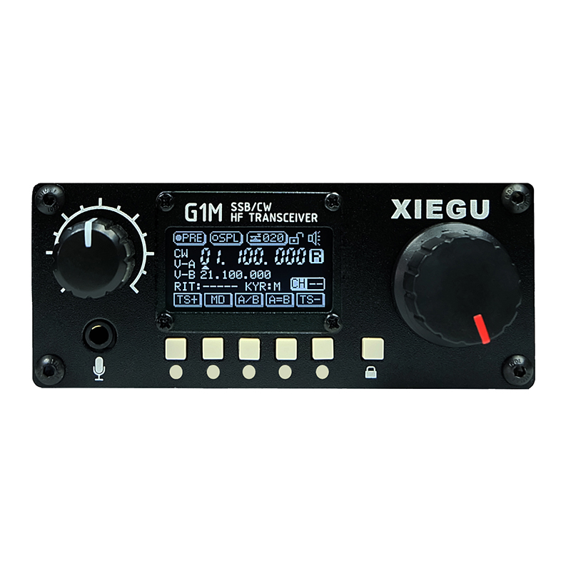 XIEGU G1M (SDR Version) Transceiver Portable Multi-band QRP Short-wave Transceiver SSB/CW/AM (receive Only) 5W 0.5~30MHz