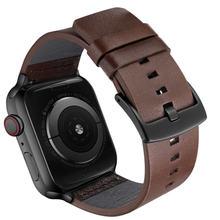 Ремешок итальянский из жирной кожи для iwatch apple watch 38