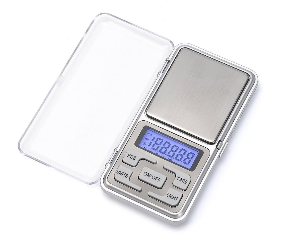 Digital Food Pocket Scale Grams - WOWOHE Accuracy 0.01g Capacity 500g Portable Small Mini Kitchen Scale For Jewelry Coffee Tea