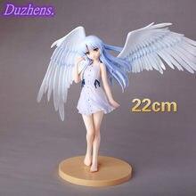 Japanes Anime anioł bije Anime rysunek Tachibana Kanade pcv figurka figurka Anime zabawki kolekcja figurek Doll prezent