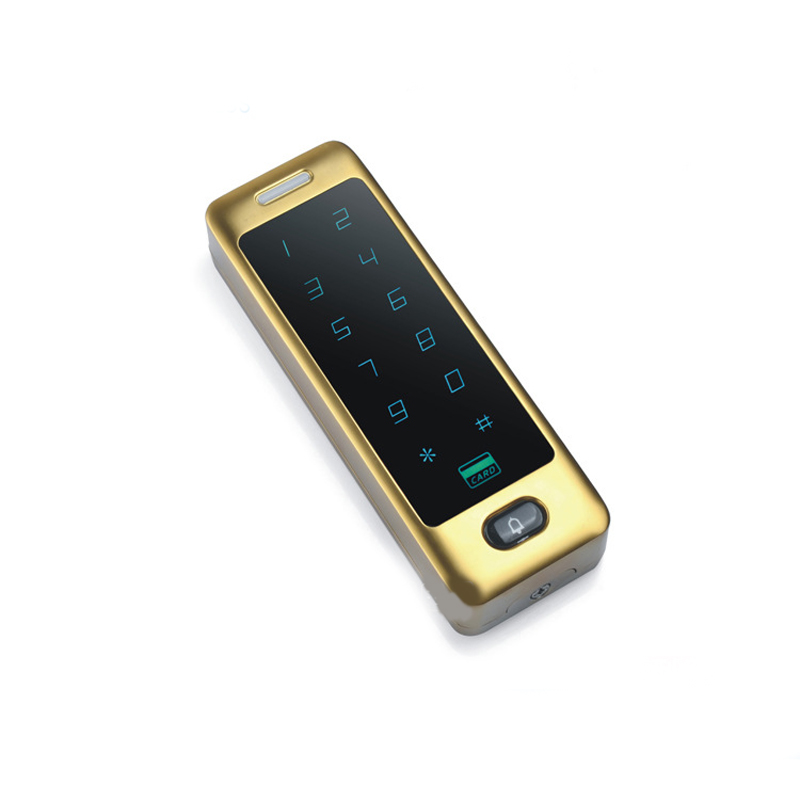 Metal fingerprint access control machine large capacity waterproof password card access control machine