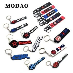 Universal Motorcycle accessories For Car keychain Key ring H onda CBR SYM MAXSYM400/600 KYMCO Benelli Cfmoto Keychain(China)