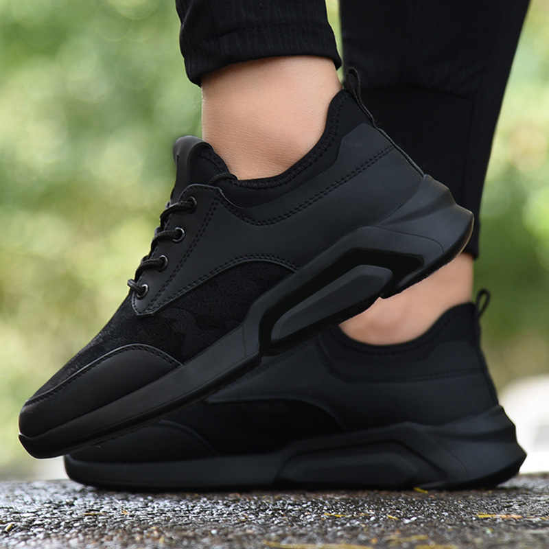Bahar yeni spor ayakkabı erkek öğrenci gençlik spor ayakkabı su geçirmez koşu ayakkabıları nefes seyahat ayakkabısı erkek ayakkabıları toptan