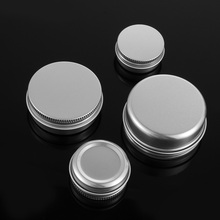 Jar Bottles Packaging Canisters-Cap Can-Tin-Container Cosmetic-Pot Sample Aluminium Reusable