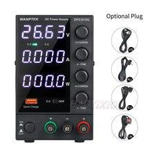 WANPTEK – Mini alimentation électrique, 0-30V, 0-10a, 300W, DC, 4 chiffres, réglable, AC 115V/230V, 50/60Hz, DPS3010U