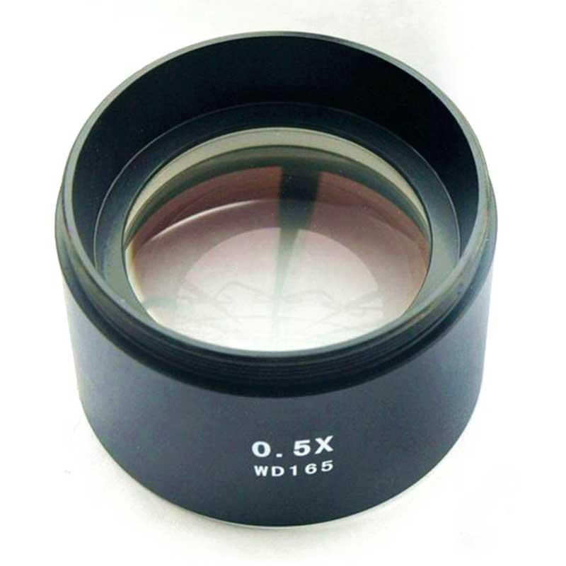 WD165 0,5X microscopio stereo obiettivo ausiliario Lente di Barlow - Strumenti di misura - Fotografia 6