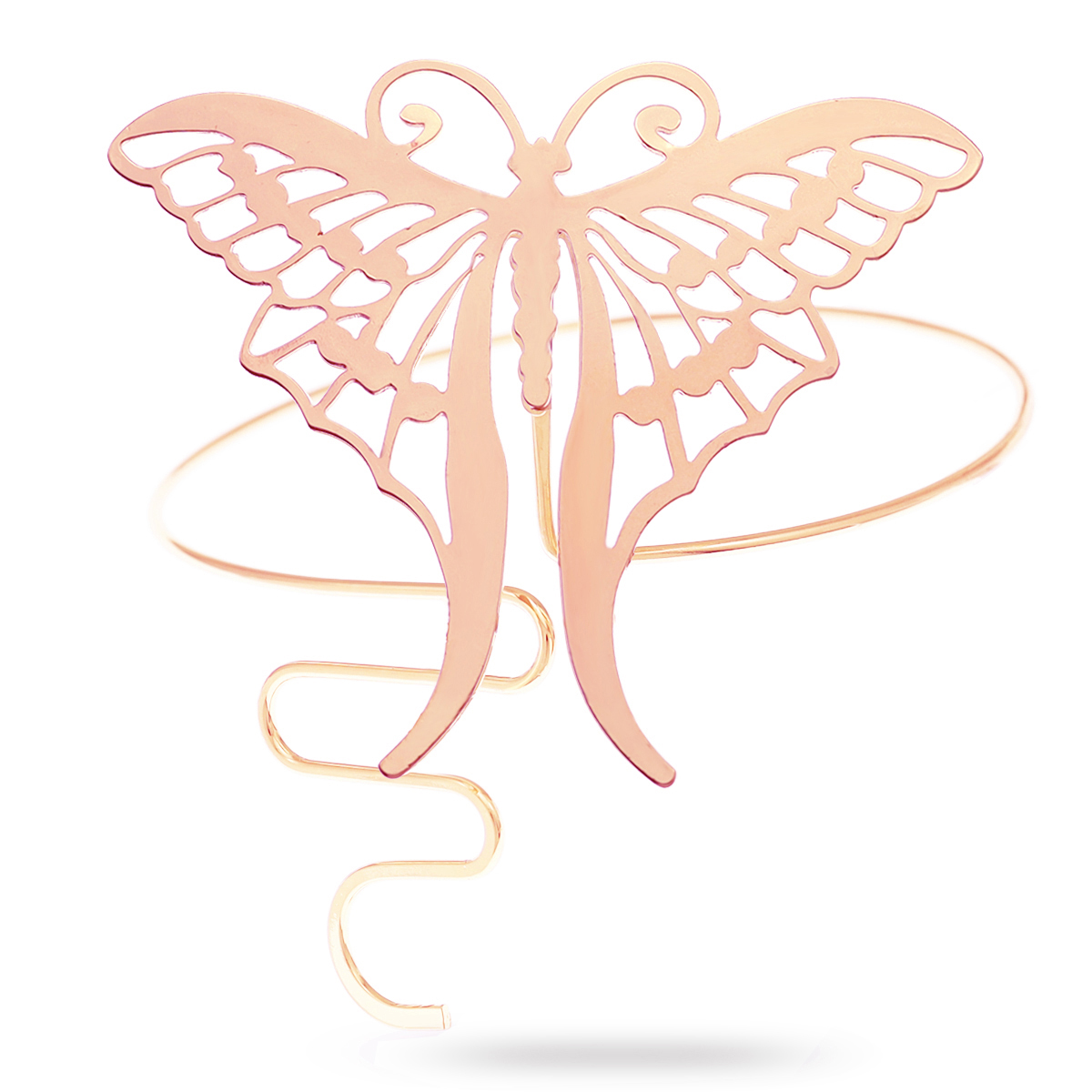 Rosegold Butterfly