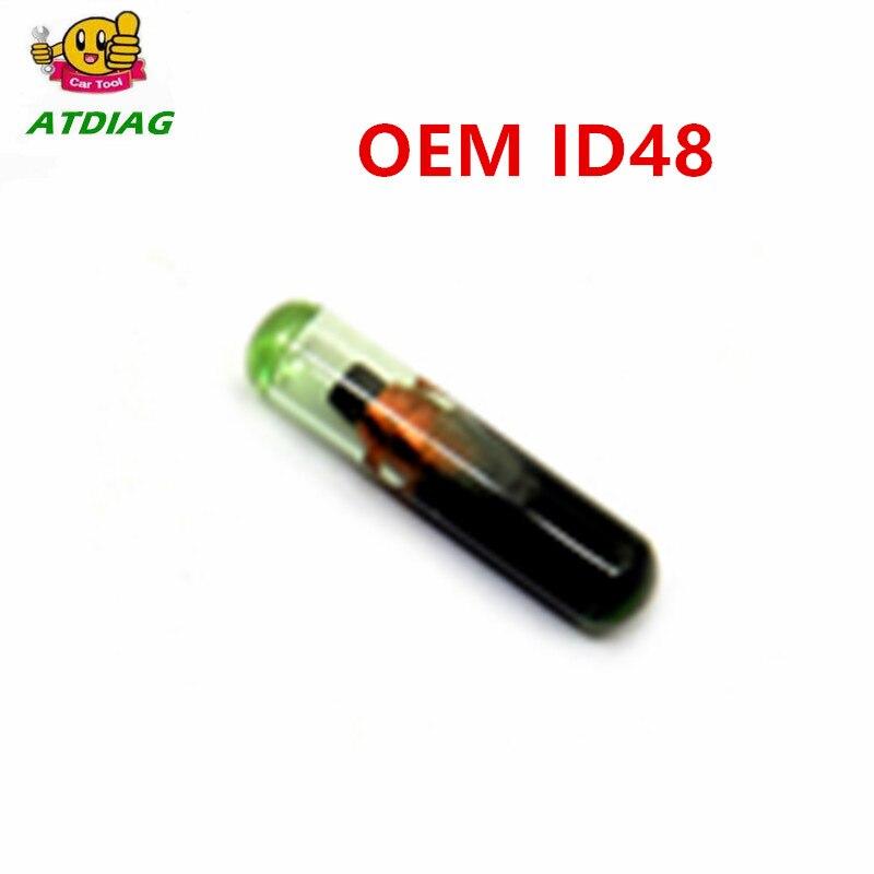 ID48 1 шт. автомобиль чипа OEM ID48 для V-W/для Sko-da/Se по особым поручениям/для Audi/для Hon-da (нового/пустой/не кодирование)
