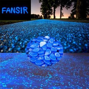100pcs Glow Luminous Stones Glow Home Fish Tank Garden Decoration Luminous Glowing In The Dark Accessory for Gift