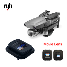 1.33X Widescreen Blu-ray Movie Lens Filter for DJI Mavic 2 Pro Drone Anamorphic Movie Lens Video Shoot Filmmaking Accessories