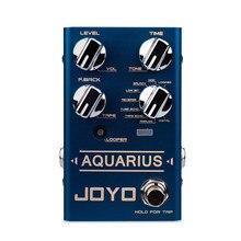 JOYO AQUARIUS Delay + Looper Multi Effect Pedal 8 Digital Delay Effects Looper 5 Minutes Tap Tempo Function Delay Guitar Pedal R
