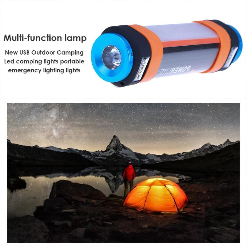 Hot Sale LED Camping Light Classic Delicate LED Camping Light T15/T25/T30 3W/4W/5.5W 5500K Portable USB Flashlight Lamp