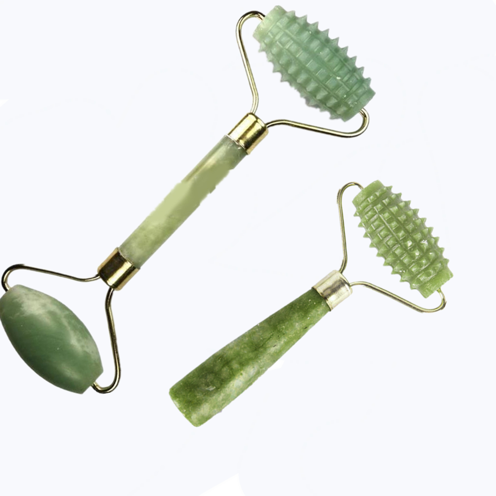 Natural Jade Roller Faciacl Massage Roller Face Lift Tools Jade Stone Massager Relax Slimming Tool Eye Thin Skin Care