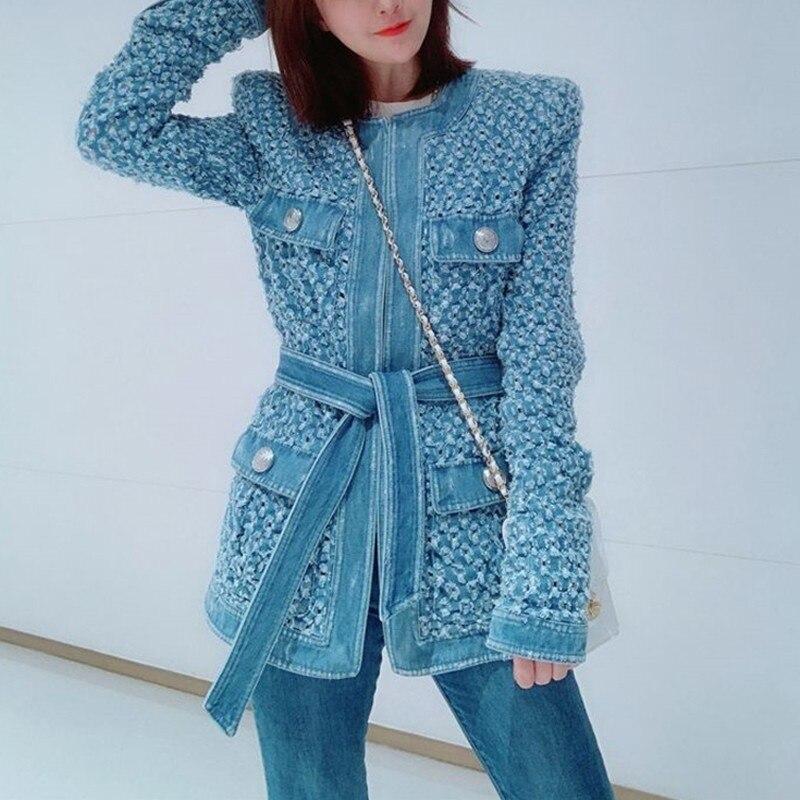 Jacket Long Lace Pocket