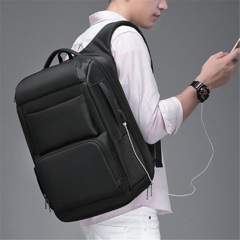 "Men's backpack USB interface shoulder anti-theft travel men's backpack large capacity multi-functional 17 "" Laptop schoolbag"