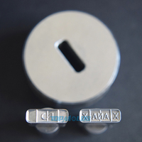 15 5mm X the best quality tablet press punch die set for sale for TDP 0/1.5/5 Tablet Press Machine