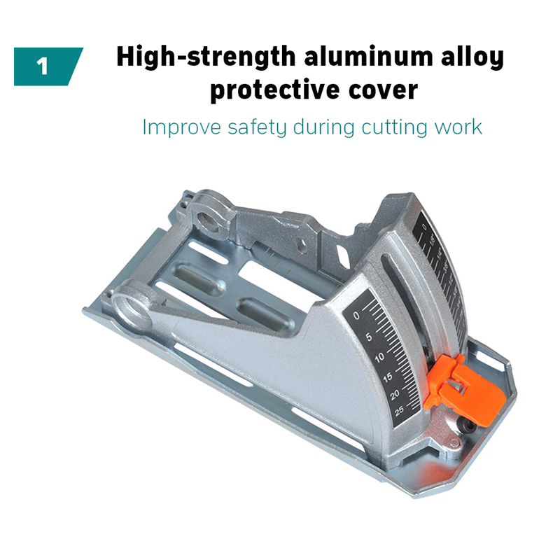 18 в 4AH 7 дюймов Многофункциональный портативный литиевая батарея резки, Деревообработка циркулярная пила, инфракрасный нож, угол резки - 2