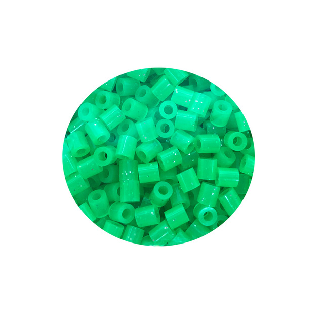JINLETONG 1000Pcs Glitter Hama Beads 5mm DIY 3d puzzle Glitter hama fuse beads toys for children Puzzles fuse beads toys 9colors 4