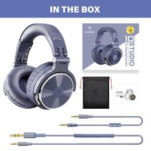 Image 5 - Oneodio Over ear 유선 게임용 헤드셋 (마이크 포함) pc베이스 스튜디오 DJ 헤드폰 전문 스테레오 모니터 Urbanfun