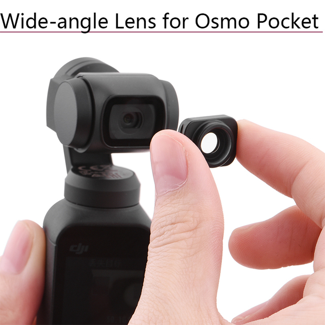 Large Wide Angle Lens for DJI Osmo Pocket/Pocket 2 Professional HD Magnetic Structure Lens Handheld Gimbal Camera Accessories