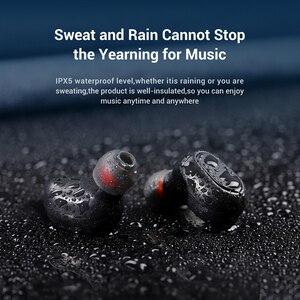 Image 3 - TOPK TWS Bluetooth 5,0 Wireless Bluetooth Kopfhörer Kopfhörer Mit Mikrofon Mini Cordless Ohrhörer für Xiaomi für Smart Telefon