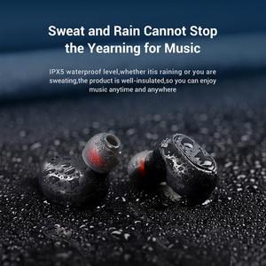 Image 3 - TOPK אלחוטי אוזניות TWS Bluetooth v5.0 LED תצוגת Bluetooth אוזניות ספורט עמיד למים אוזניות אוזניות תמיכת iOS/אנדרואיד