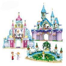 Принцесса замок садовая коляска серия собранная головоломка