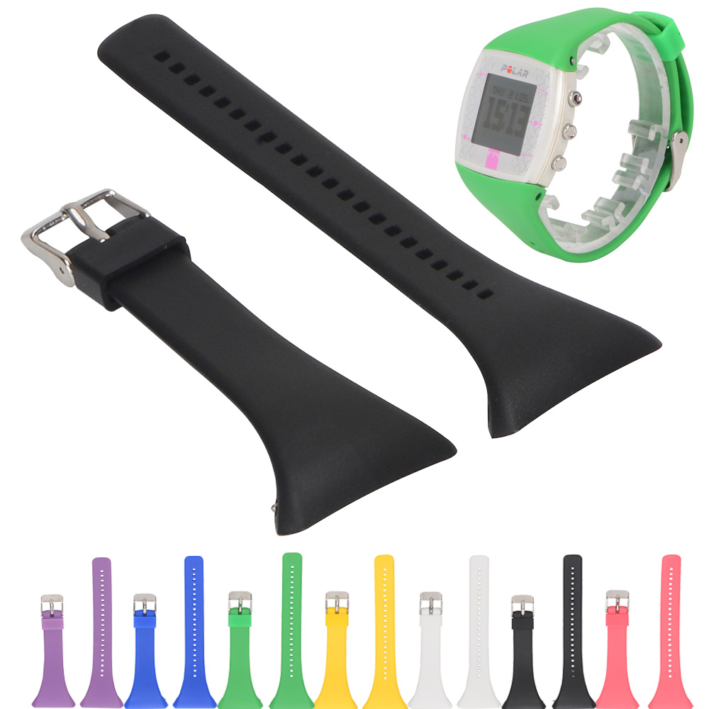 For Polar FT4 FT7 Sport Silicone Strap Band Bracelet Replacement Rubber Watchband Wristband