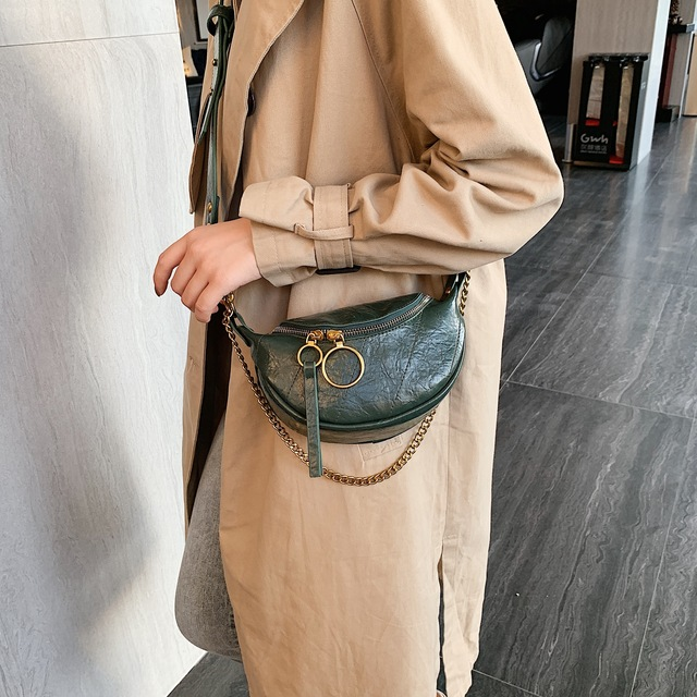 Fashion Quality PU Leather Crossbody Bags For Women 2020 Chain Small Shoulder Messenger Bag Lady Travel Handbags and Purses 1