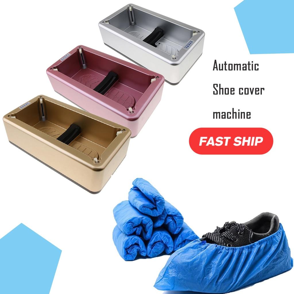Automatic Shoe Cover Dispenser Machine Disposable Overshoe Dispenser Device Automatic Shoe Covers Machine Home Office
