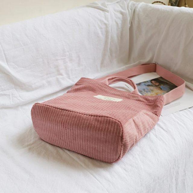 Large Capacity Cloth Handbag  women 4
