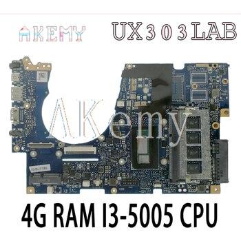 UX303UA UX303LA Motherboard For ASUS UX303U UX303UB Mainboard I5-4210 Heatsink