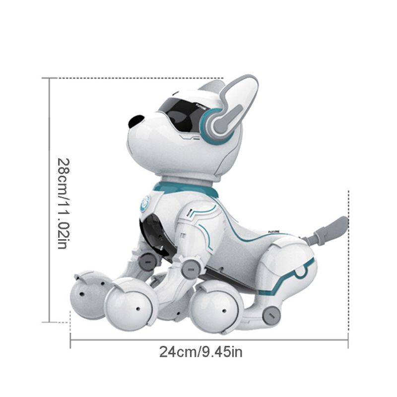 dublê filhote de cachorro robô
