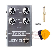 JOYO R-02 TAICHI Overdrive Guitar Effect Pedal Overdrive Pedal True Bypass Overdrive Electric Guitar Pedal biyang x drive overdrive guitar effect pedal stompbox for electric guitar chipset changeable to create diffenet tone od 8