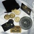 Джон фитиль, маркер кровавой приманки, косплей Кеану, серебряная металлическая монета, реквизит для костюма на Хэллоуин, коллекция фанатов