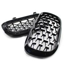 New Arrival Diamond Style Car Front Grille Racing Sport Grill Kidney For BMW X5 F15 2014-2016 Accessories