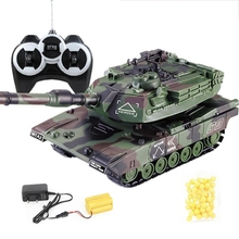 1:32 Military War RC Battle Tank Heavy Large Interactive Remote Control Toy Car XX9E