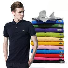 Haute Qualité 2021 Bande Hommes Femmes Polo Classique À Manches Courtes Homme Vêtements Décontracté 100% Coton Luxe Designer Hauts