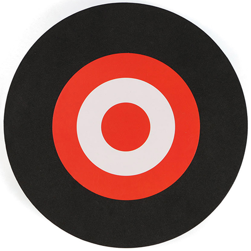 25 x 3Cm Archery Eva Foam Target Self Healing Bow Moving Hunting Practice Black+Red