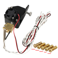 Dupla engrenagem de metal bmg extrusora bowden dupla unidade extrusora para mk8 CR-10 prusa i3 mk3 ender 3 vdx99