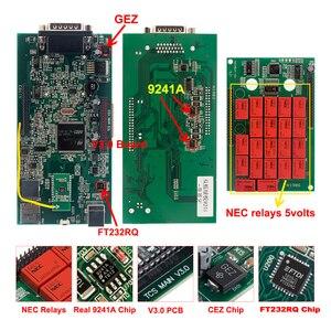 Image 4 - CDP TCS 2017.R1 multidiag pro + Bluetooth USB 2016,00 keygen V3.0 NEC relés obd2 escáner coches camiones OBDII herramienta de diagnóstico