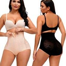 Minceur Body culottes femmes sous-vêtements taille haute pantalon zippé ventre contrôle culotte minceur gaine ventre formateur ceinture Shaper pantalon