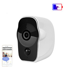 INQMEGA Portable Wireless Battery Rechargeable IP Camera Wifi 1080P Indoor Home Monitoring Security Recording Video Cameras