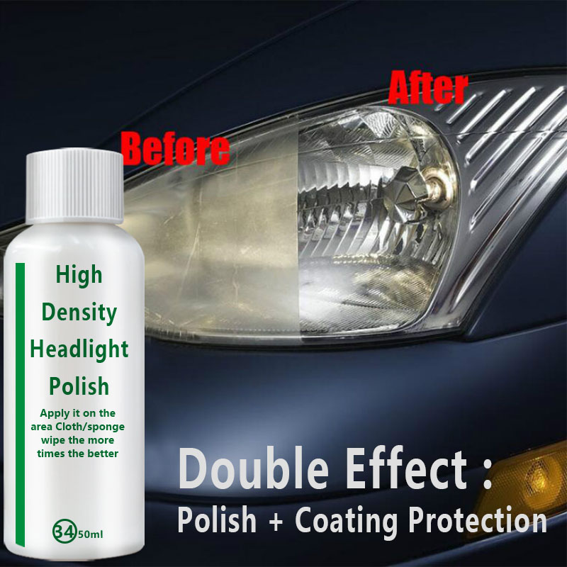 20ml/50ml Car Headlight Repair Liquid Retreading Agent Glitter Polish Len Restoration Cars Restoration Fluid